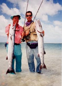 Bill and Todd with huge Barracuda